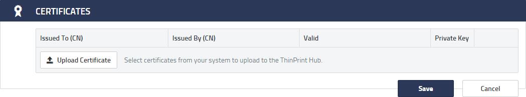 ThinPrint Hub documentation